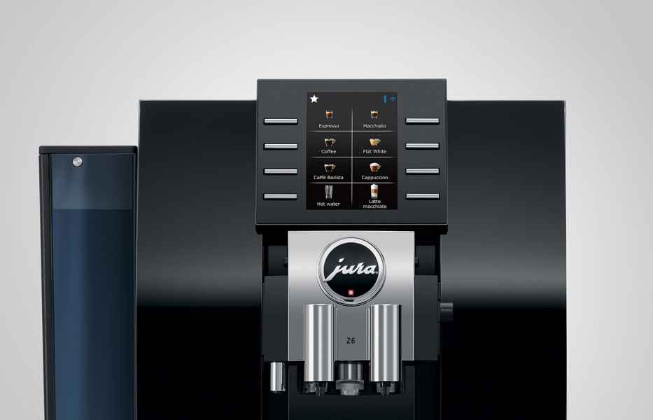 Jura Z6 Diamond Black - Jura Koffiemachines